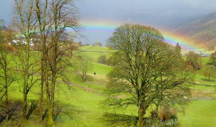 Rainbow over Troutbeck